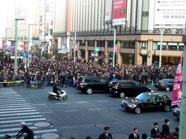 2月2日細川もりひろさん@銀座三越前2.jpg