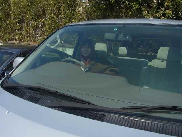 自動車の免許を取ったむすめ、だ。.jpg